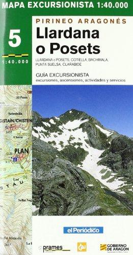 9788483211168: Llardana - posets - mapa pirineo aragones (Mapas Excursionistas Coedi)