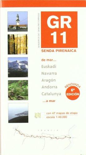 9788483211878: Gr-11 - Senda Pirenaica - De Mar A Mar (libro+mapa): GR11 Long Distance Path