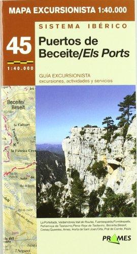 9788483212639: Puertos beceite/ els ports - mapa excursionista