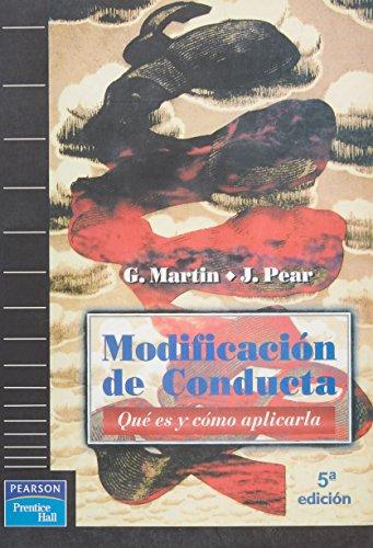 9788483220344: Modificacion de Conducta - Que Es y Como Aplicarla (Spanish Edition)