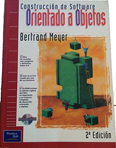 9788483220405: Construccion de Software Orientado a Objetos C/1cd (Spanish Edition)