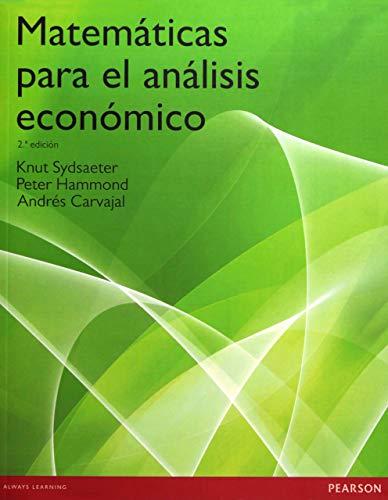 9788483223154: Matemáticas para el análisis económico
