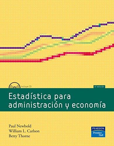 9788483224038: Estadistica para Administracion y Economia, 6/ed., incluye CD