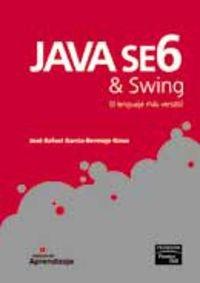 9788483224144: Manual de aprendizaje: Java se6 & swing. (PC Cuadernos)