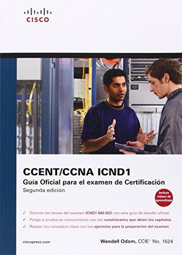 9788483224427: Cisco press:Ccna Icnd 1. Guía oficial para el examen de certificación (Cisco Networking Academy)