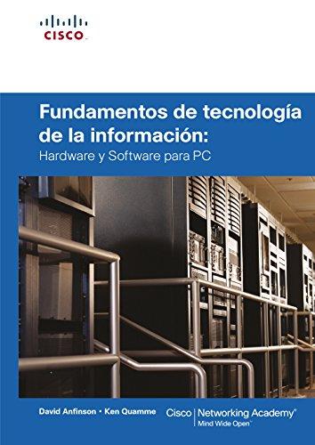 9788483225165: Fundamentos de la tecnología de la Infor: Hardware y software para PC (Cisco Press)
