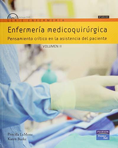 9788483225189: Enfermería micoquirúrgica Volumen II