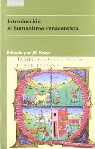 9788483230169: Introducción al humanismo renacentista: 5 (Literatura)