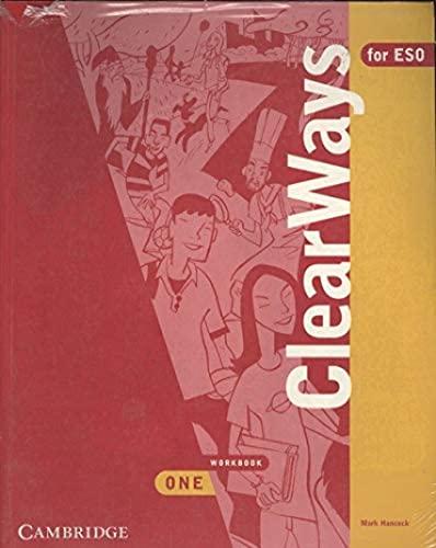 9788483230572: Clearways, 1 ESO. Workbook