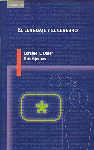9788483230909: El lenguaje y el cerebro (Spanish Edition)