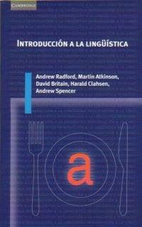 9788483230947: Introduccion a la linguistica