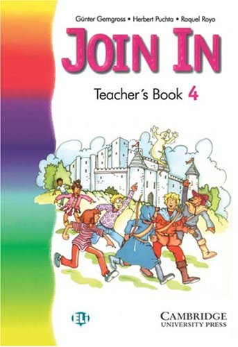 9788483231999: Join In 4 Teacher's Book, English edition (Spanish Edition)