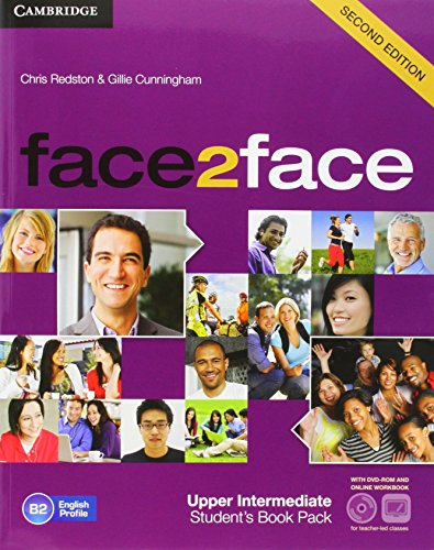 9788483232255: face2face for Spanish Speakers Upper Intermediate Student's Book with DVD-ROM, Spanish Speakers Handbook with Audio CD,Online Workbook Second Edition