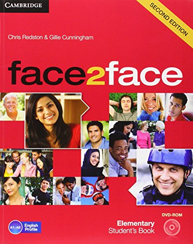 9788483232361: face2face for Spanish Speakers Elementary Student's Book with DVD-ROM and Handbook with Audio CD Second Edition
