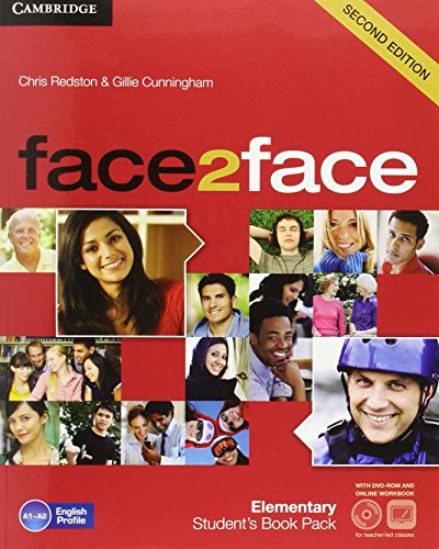 face2face for Spanish Speakers Elementary Student's Pack(Student's Book with DVD-ROM, ...