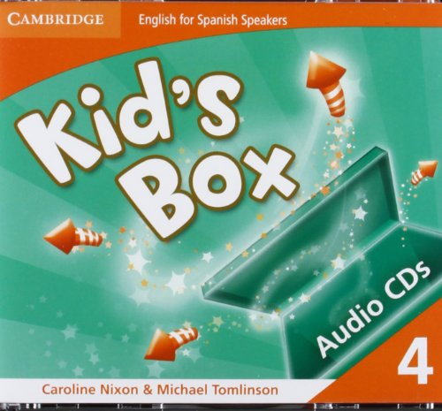 9788483232491: Kid's Box for Spanish Speakers Level 4 Audio Cds (4)