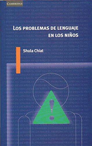 9788483232507: Los problemas de lenguaje en los niños (Spanish Edition)