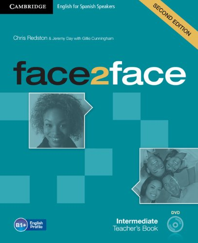 9788483232521: face2face for Spanish Speakers Pre-intermediate Teacher's Book with DVD-ROM