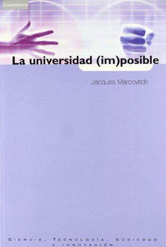 9788483232996: La universidad (im)posible (Spanish Edition)