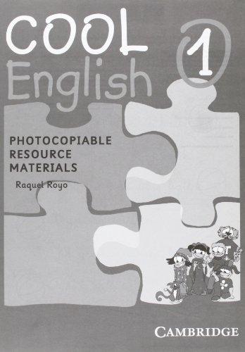 9788483234013: Cool English Level 1 Photocopiable Resource Materials: Photocopiable Resource Materials Level 1
