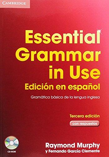 9788483234693: Essential grammar in use with key + cd rom