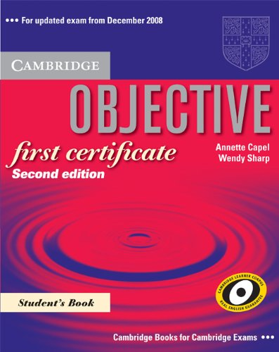 9788483234730: Objective First Certificate Student's Book with Answers and 100 Tips Writing Booklet Pack Spanish edition
