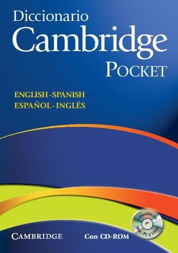 9788483234761: Diccionario Bilingue Cambridge Spanish-English with CD-ROM Pocket Edition