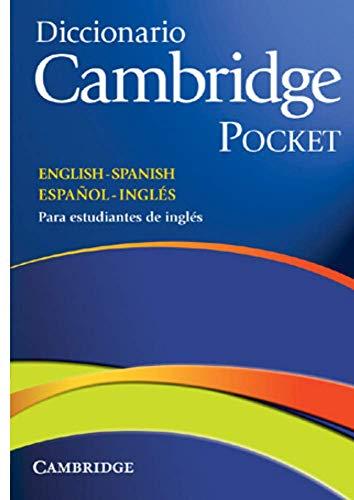 9788483234785: Diccionario Bilingue Cambridge Spanish-English Flexi-cover Pocket edition