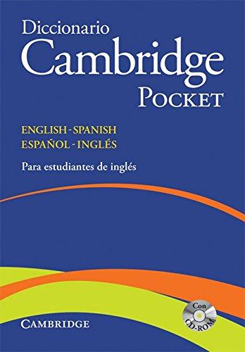 9788483234792: Diccionario Bilingue Cambridge Spanish-English Flexi-Cover Pocket edition