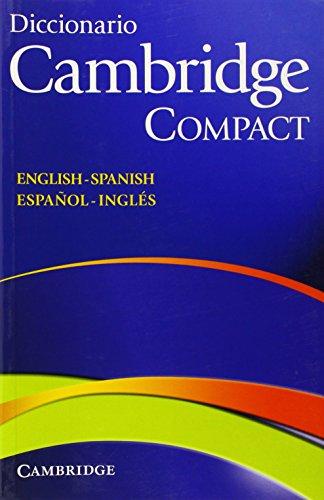 9788483234822: Diccionario Bilingue Cambridge Spanish-English Paperback Compact edition
