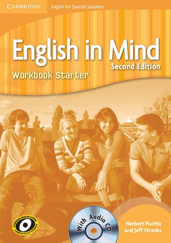 9788483235201: English in Mind for Spanish Speakers Starter Level Workbook with Audio CD