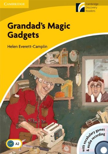 9788483235270: Grandad's Magic Gadgets Level 2 Elementary/Lower-intermediate American English Book with CD-ROM and Audio CD Pack (Cambridge Discovery Readers)