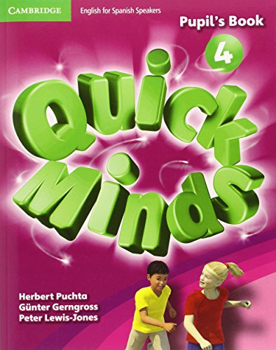 9788483235461: Quick Minds Level 4 Pupil's Book with Online Interactive Activities - 9788483235461