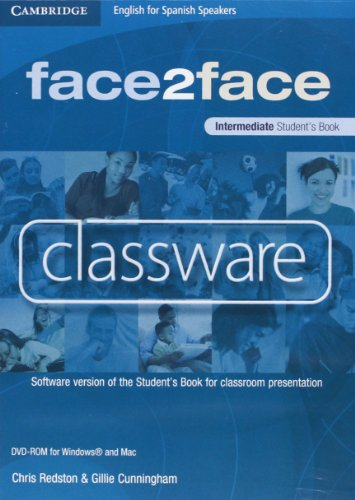 face2face for Spanish Speakers Intermediate Classware DVD-ROM (single classroom) (8483235579) by Redston, Chris; Cunningham, Gillie