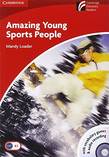 9788483235683: CDR1: Amazing Young Sports People Level 1 Beginner/Elementary Book with CD-ROM/Audio CD Pack (Cambridge Discovery Readers)