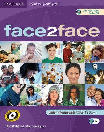 9788483235935: face2face for Spanish Speakers Upper Intermediate Student's Book with CD-ROM/Audio CD