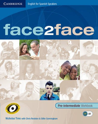 9788483236499: Face2face for Spanish Speakers Pre-intermediate Workbook with Key