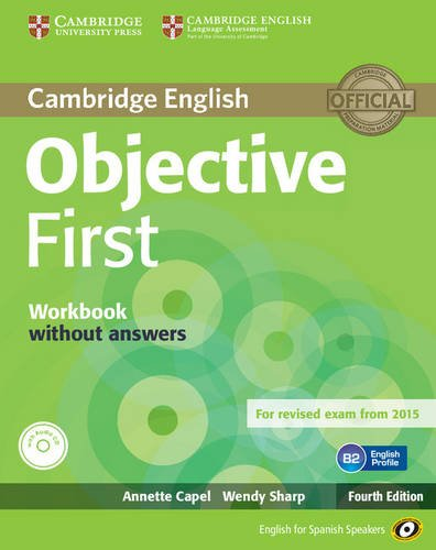 9788483236789: Objective First for Spanish Speakers Workbook without Answers with Audio CD 4th Edition