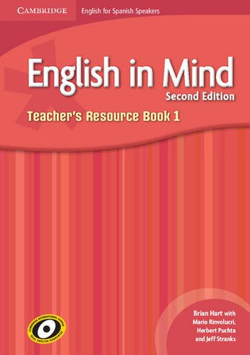 English in Mind for Spanish Speakers Level 1 Teacher's Resource Book with Audio CDs (3) (9788483236819) by Hart, Brian