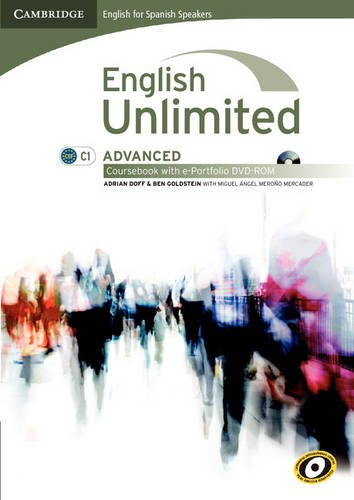 9788483236932: English unlimited for spanish speakers advanced coursebook with e-portfolio (Edición para España)