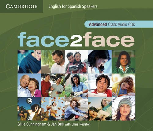 9788483236963: face2face for Spanish Speakers Advanced Class Audio CDs (4)