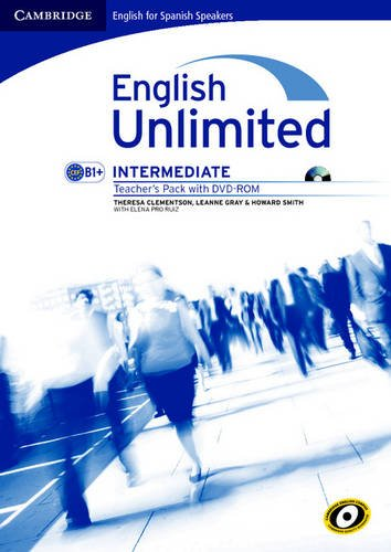 9788483236970: English Unlimited for Spanish Speakers Intermediate Teacher's Pack (Teacher's Book with DVD-ROM)