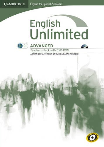 9788483237007: English Unlimited for Spanish Speakers Advanced Teacher's Pack (Teacher's Book with DVD-ROM)