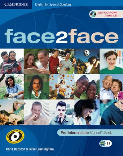 9788483237076: Face2face for Spanish Speakers Pre-intermediate Student's Book with Cd-rom/audio Cd