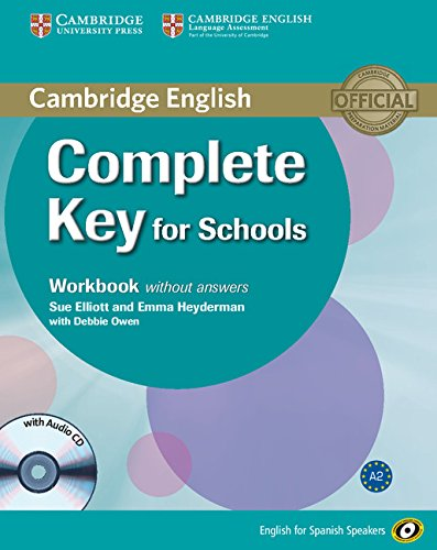 9788483237090: Complete Key for Schools for Spanish Speakers Workbook without Answers with Audio CD
