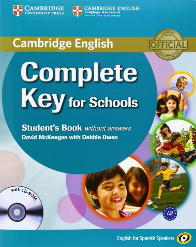 9788483237120: Complete Key for Schools for Spanish Speakers Student's book without Answers with CD-ROM