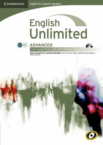 9788483237182: English Unlimited for Spanish Speakers Advanced Self-study Pack (Workbook with DVD-ROM and Audio CD)