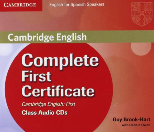 9788483237335: Complete First Certificate for Spanish Speakers Class Audio CDs (3)