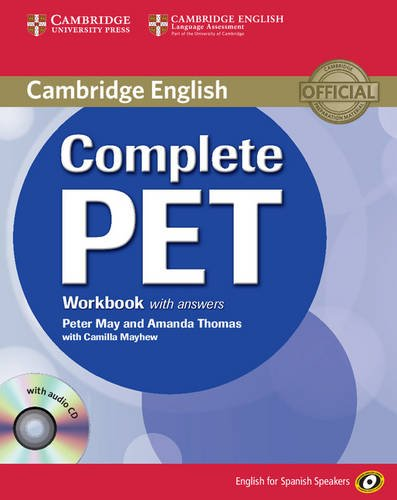 9788483237458: Complete PET for Spanish Speakers Workbook with Answers with Audio CD