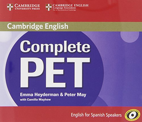 9788483237472: Complete PET for Spanish Speakers Class Audio CDs (4)